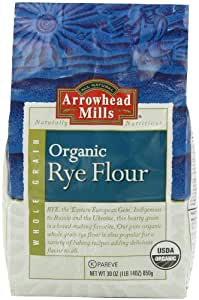 Amazon.com : Arrowhead Mills Am Rye Flour Organic, 30