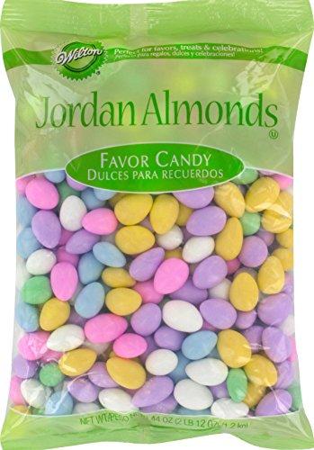 Wilton Assorted Jordan Almonds, 44 (Jordan Sweet)