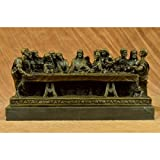 Charming Hot Cast Original Extra Large Christian Faith Last Supper Jesus Religious Bronze