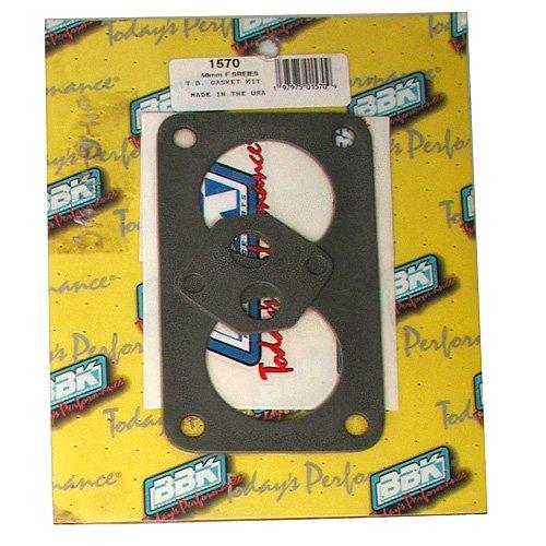 - BBK 1570 Twin 56mm Throttle Body Gasket Kit for Ford F-Series
