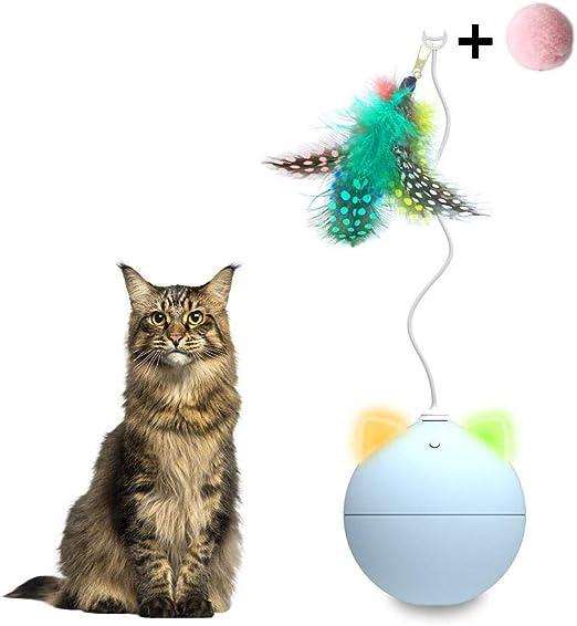 Onlyonehere Pelota De Juguete para Mascotas Robot Gato Juguete ...