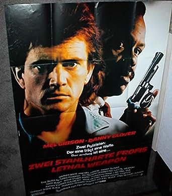 lethal weapon original 1987 33x47 german movie poster mel