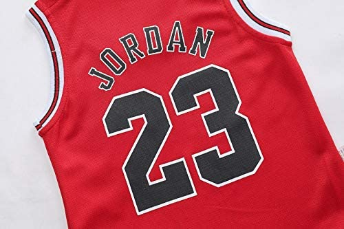 6-30 Mesi NBA Jordan 23//Curry 30//James 23//Irving 11 Maglia Unisex da Basket Senza Maniche Body Neonata Bambino Bambina Tutina Pagliaccetto Playsuit Estate Tuta da Vestito Rehot Body Bimbo Bimba