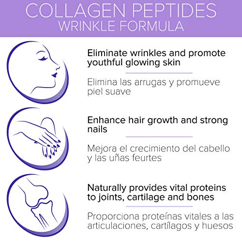 Premium Collagen Peptides Pills, Vitamin C E - 150ct - Anti Aging Skin, Fast Hair Growth, Nails, Joint, Bone Support - Grass Fed, Hydrolyzed Collagen Powder Capsules, Protein Supplements for Women Men