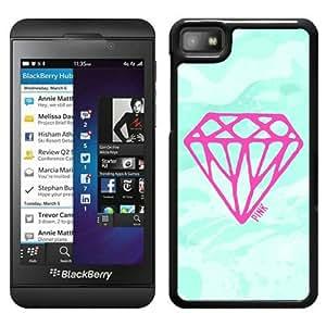 Hot Sale Blackberry Z10 Case ,Unique Designed With Victoria's Secret Love Pink 15 in Black Blackberry Z10 Cover