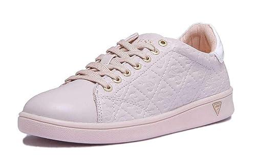 Guess - Zapatillas de Sintético para Mujer, Color Beige, Talla 36 EU: Amazon.es: Zapatos y complementos