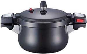 Pn Astum AL Black Pearl Neo Pressure Cooker 4.4L for 8 People