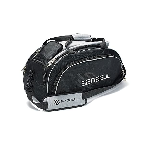 Sanabul Hybrid Mma Bjj Gym Duffel Backpack Bag