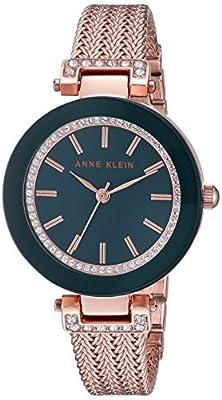Anne Klein Goldtone Crystal Watch