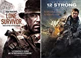 Fighting Al Qaeda + The Taliban- True Modern War Stories: Lone Survivor & 12 Strong 2-DVD Bundle