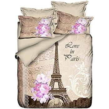 casa paris gold 8 piece comforter set 8 home kitchen. Black Bedroom Furniture Sets. Home Design Ideas
