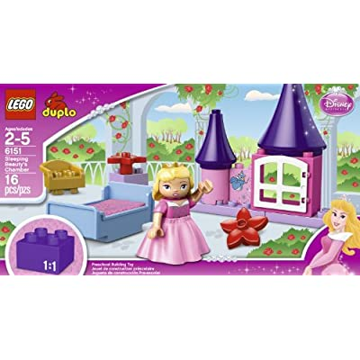 LEGO DUPLO Disney Princess Sleeping Beauty's Room 6151: Home & Kitchen