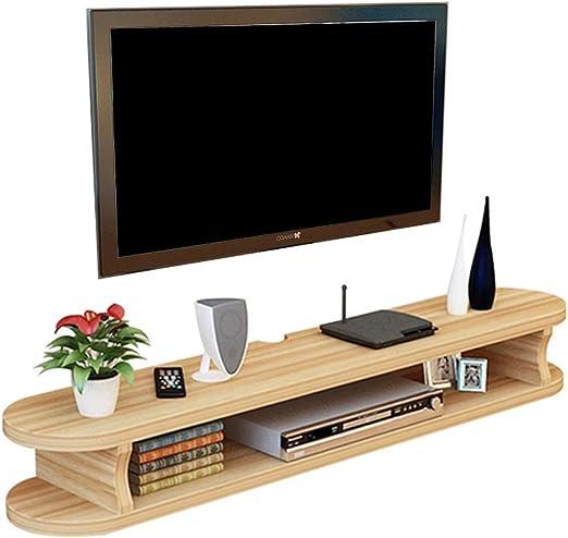 Gabinete de soporte de TV Flotante de madera de TV de montaje en pared tiempo de