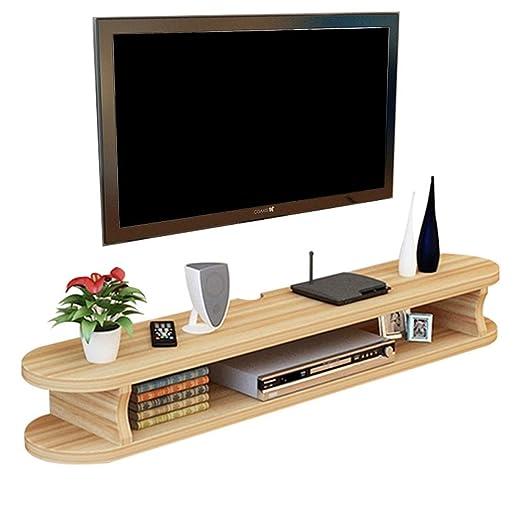 Licyen TV Soporte Mesa TV Gabinete Flotante de Madera de TV de ...