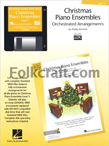 Christmas Piano Ensembles - Level 3 General MIDI Disk Disk