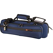 Protec Flute (B and C Foot) Slimline PRO PAC Case, Blue