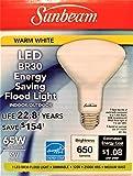 Sunbeam LED 65W/9W BR30 Flood Light Bulb