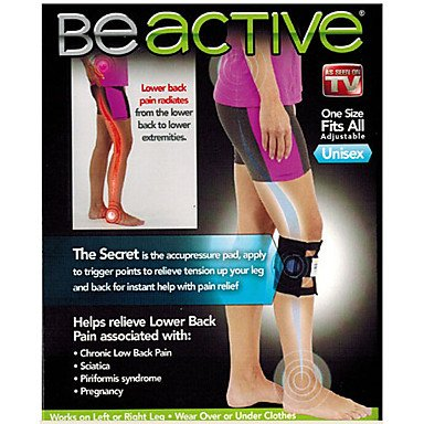 Therapeutic Beactive Brace Point Pad Leg Be Active For Back Pain Acupressure Sciatic