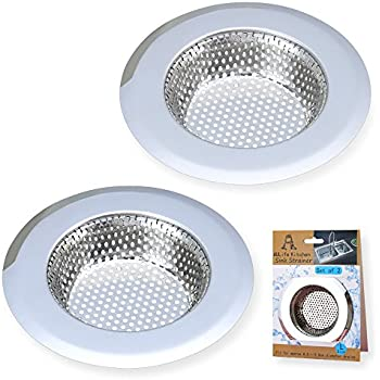 A AULIFE Stainless Steel Kitchen Sink Strainer