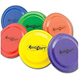 GameCraft Plastic Flying Discs (Set of 6), 9-Inch