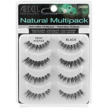 64e43b7e77f THE Best 4 Pairs Ardell Demi Wispies Natural Multipack False Eyelashes Fake  Eye Lashes