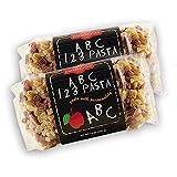 vegetable alphabet pasta - Pastabilities - ABC 123 Pasta, 14 oz. (Pack of 2)