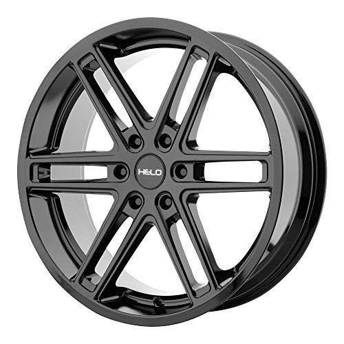 HELO HE908 Gloss Black Wheel Chromium (hexavalent compounds) (20 x 9. inches /6 x 87 mm, 30 mm Offset)