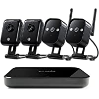 Zmodo Replay 1.0 Megapixel Outdoor Indoor Wireless Smart Home Secuirty Camera System (No Hard Drive)