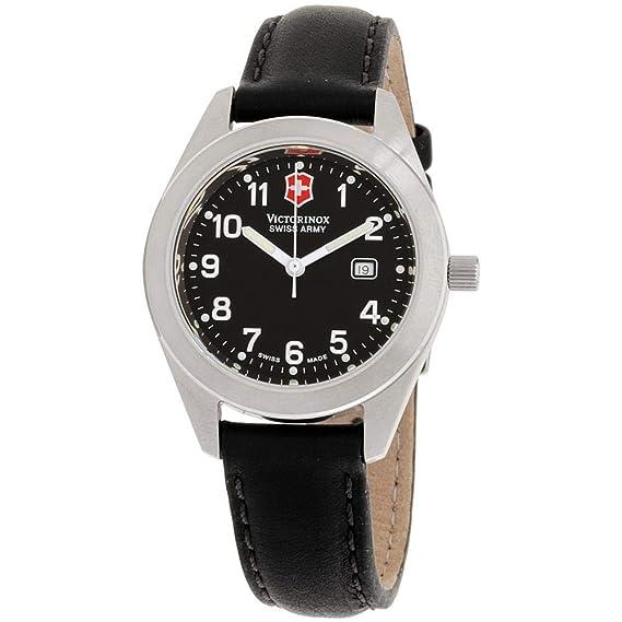 Victorinox Garrison Reloj de Mujer Cuarzo 30mm Correa de Cuero 241017.CB: Amazon.es: Relojes