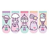 Pusheen The Cat Ankle Socks - Pusheen Ice Cream