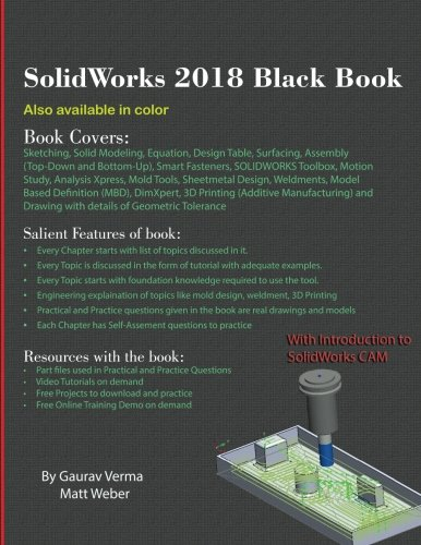 SolidWorks 2018 Black Book by CADCAMCAE Works