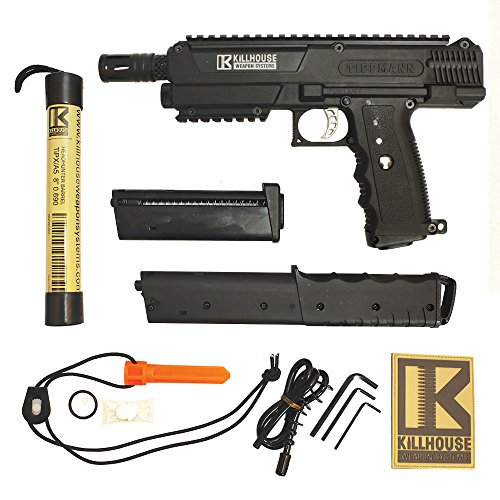Tippmann TiPX Paintball Pistol Marker Gun - Killhouse Edition by Killhouse Weapon Systems