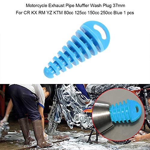 Exhaust & Exhaust Systems FMF Pip Wash Plug Silencer Muffler Exhaust Pipe Dirt Pit Bike For 4 Stroke Dirt Pit Bikes CR KX RM YZ KTM 80cc 125cc 150cc 250cc