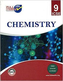 ICSE CLASS 9 CHEMISTRY BOOK PDF DOWNLOAD