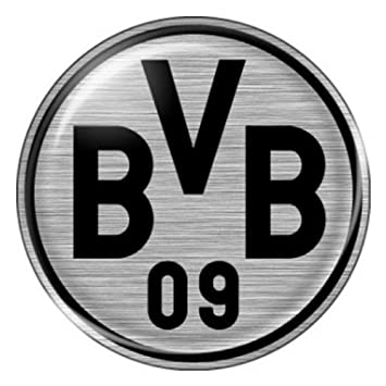 Sticker car sticker 3d logo borussia dortmund bvb silver amazon sticker car sticker 3d logo borussia dortmund bvb silver voltagebd Images