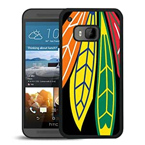 Fashionable And Unique Designed Cover Case With Chicago Blackhawks (2) Black For HTC ONE M9 Phone Case