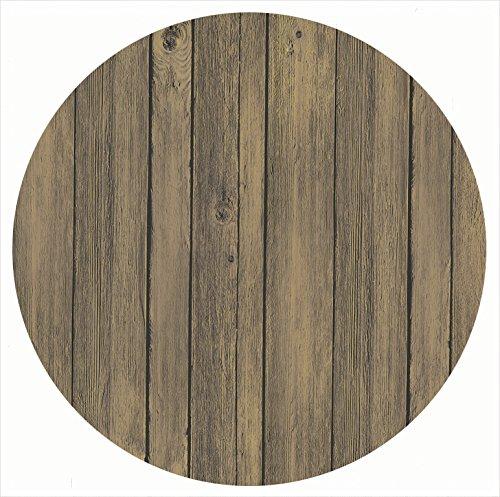 Tablero Werzalit, decoración antiguo marrón redonda (80 cm ...