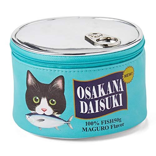 FELISSIMO Nekobu Travel Make Up Case – Shaped Like Cat Food Cans – Felissimo Nekobu's Original Design – Cute Accessory…