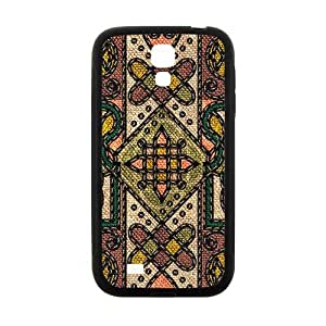 Classic Flowerr Fabric Totem Pattern Hot Seller High Quality Case Cove For Samsung Galaxy S4
