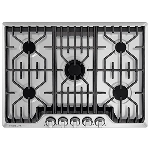 "Electrolux Frigidaire Professional FPGC3077RS 30"" Gas Cooktop in Stainless Steel"