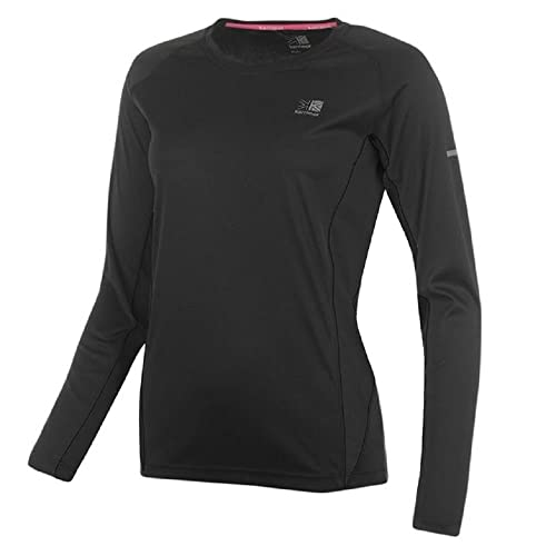 Ladies KARRIMOR Long Sleeved Running Top / Sports Shirt