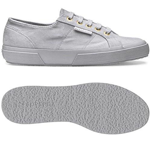 Lt Grey Donna Polyvelvtw 2750 Sneaker Superga ancF4Tqx