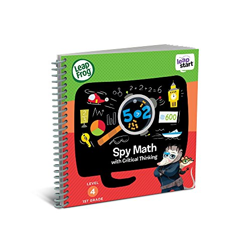 LeapFrog LeapStart 1st Grade Activity Book: Spy Math and Critical Thinking