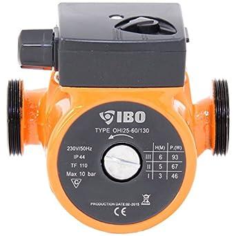 Umwalzpumpe Heizungspumpe Ibo 25 60 130 Pumpe Warmwasser Heizung