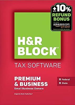 Block Financial H&R Block Tax Software 15 Premium + Business - PCDisc Twister Parent