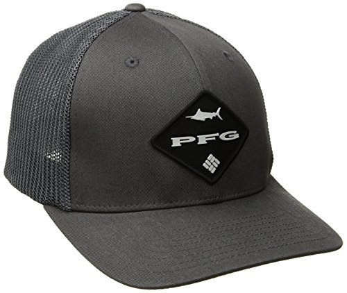 Columbia Pfg Mesh Ball Cap, Grill/Pfg Logo, Large/X-Large (3 Pack) by Columbia