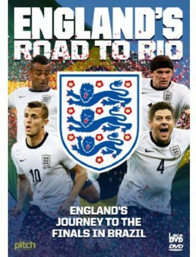 England's Road to Rio: Brazil World Cup 2014  [Non USA PAL Format]