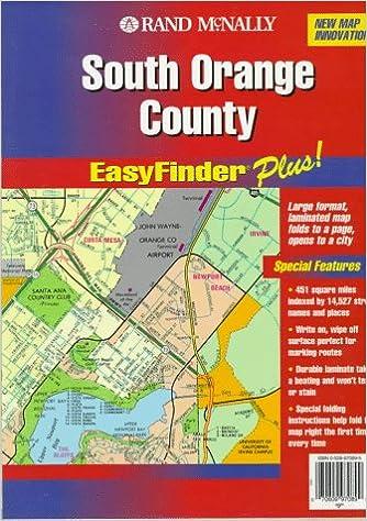Rand McNally South Orange County: Easyfinder Plus! (Easyfinder Plus on