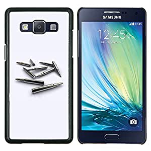 LECELL--Funda protectora / Cubierta / Piel For Samsung Galaxy A5 A5000 -- Bullet Oro MM --