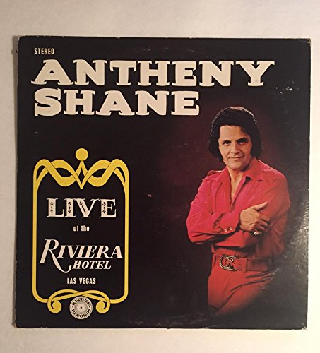 Antheny Shane Live at The Riviera Hotel Las Vegas Revere Records. Vintage Vegas. Comes with CD MP3 Transfer! (Revere Hotel compare prices)